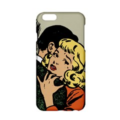 Hugging Retro Couple Apple Iphone 6/6s Hardshell Case by vintage2030