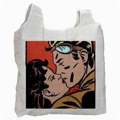 Retrocouplekissing Recycle Bag (two Side)