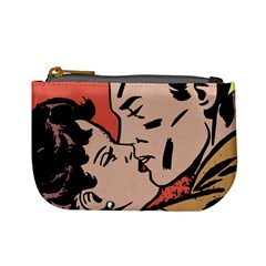Retrocouplekissing Mini Coin Purse by vintage2030