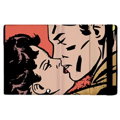 Retrocouplekissing Apple Ipad 2 Flip Case by vintage2030