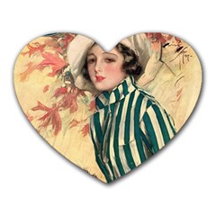Cosmopolitan Fc November 1917 Heart Mousepads by vintage2030