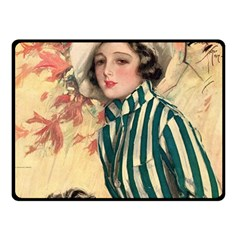 Cosmopolitan Fc November 1917 Fleece Blanket (small) by vintage2030