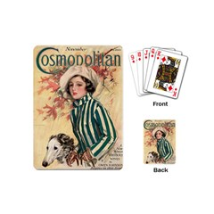 Cosmopolitan Fc November 1917 Playing Cards (mini)  by vintage2030