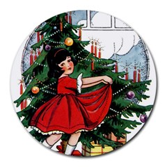 Christmas 1912802 1920 Round Mousepads