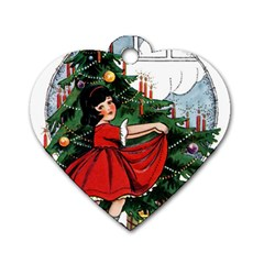 Christmas 1912802 1920 Dog Tag Heart (two Sides) by vintage2030