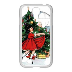 Christmas 1912802 1920 Samsung Galaxy S4 I9500/ I9505 Case (white) by vintage2030