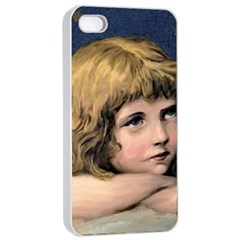 Angel 1866592 1920 Apple Iphone 4/4s Seamless Case (white) by vintage2030