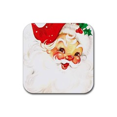 Santa Claus 1827265 1920 Rubber Coaster (square)  by vintage2030