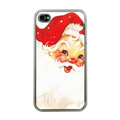 Santa Claus 1827265 1920 Apple Iphone 4 Case (clear) by vintage2030