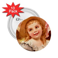 Girls 1827219 1920 2 25  Buttons (10 Pack)  by vintage2030