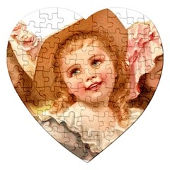 Girls 1827219 1920 Jigsaw Puzzle (heart) by vintage2030