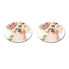 Girl 1731727 1920 Cufflinks (oval) by vintage2030