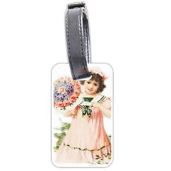 Girl 1731727 1920 Luggage Tags (one Side)  by vintage2030