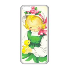 Girl 1731722 1920 Apple Iphone 5c Seamless Case (white) by vintage2030