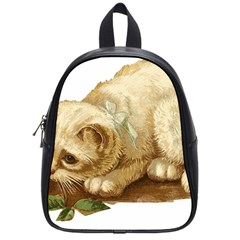 Cat 1827211 1920 School Bag (small) by vintage2030