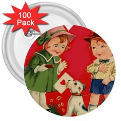 Children 1731738 1920 3  Buttons (100 Pack)  by vintage2030