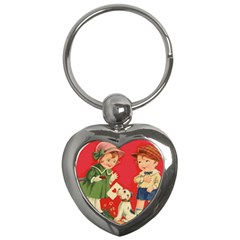 Children 1731738 1920 Key Chains (heart)  by vintage2030