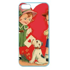 Children 1731738 1920 Apple Seamless Iphone 5 Case (color)