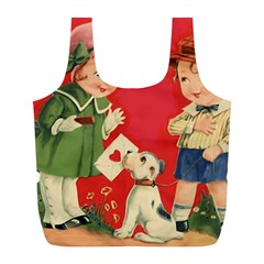 Children 1731738 1920 Full Print Recycle Bag (l)