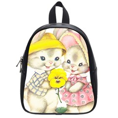 Rabbits 1731749 1920 School Bag (small) by vintage2030