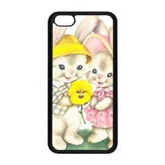 Rabbits 1731749 1920 Apple Iphone 5c Seamless Case (black) by vintage2030