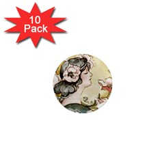 Lady 1650603 1920 1  Mini Magnet (10 Pack)  by vintage2030