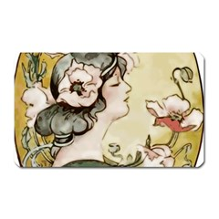 Lady 1650603 1920 Magnet (rectangular) by vintage2030