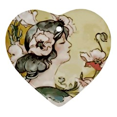 Lady 1650603 1920 Heart Ornament (two Sides) by vintage2030