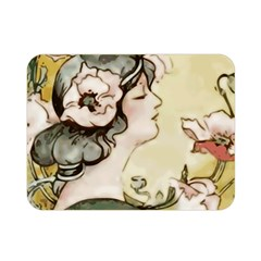 Lady 1650603 1920 Double Sided Flano Blanket (mini)  by vintage2030