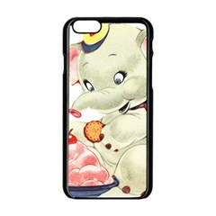 Elephant 1650653 1920 Apple Iphone 6/6s Black Enamel Case by vintage2030