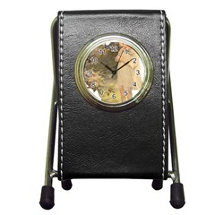 Vintage 1650586 1920 Pen Holder Desk Clock by vintage2030