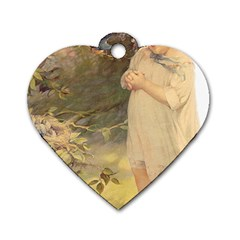 Vintage 1650586 1920 Dog Tag Heart (one Side) by vintage2030