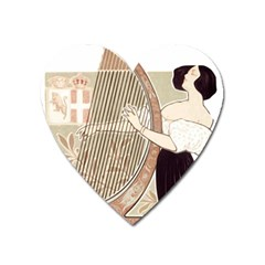 Woman 1503387 1920 Heart Magnet by vintage2030
