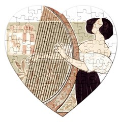 Woman 1503387 1920 Jigsaw Puzzle (heart) by vintage2030