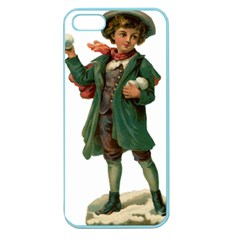Boy 1718346 1920 Apple Seamless Iphone 5 Case (color) by vintage2030