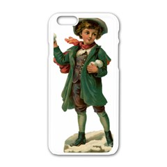 Boy 1718346 1920 Apple Iphone 6/6s White Enamel Case