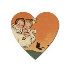 Halloween 1461955 1920 Heart Magnet by vintage2030