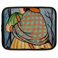 Witch 1462701 1920 Netbook Case (xxl) by vintage2030