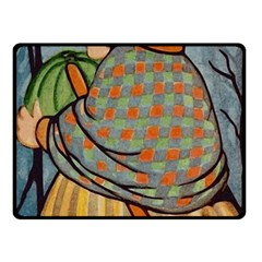 Witch 1462701 1920 Fleece Blanket (small) by vintage2030