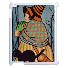 Witch 1462701 1920 Apple Ipad 2 Case (white) by vintage2030