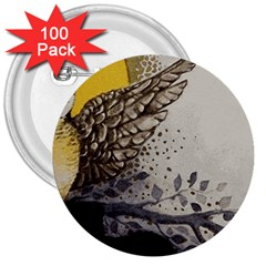 Owl 1462736 1920 3  Buttons (100 Pack)