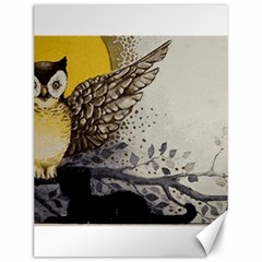 Owl 1462736 1920 Canvas 12  X 16  by vintage2030