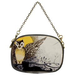 Owl 1462736 1920 Chain Purse (two Sides) by vintage2030