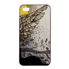 Owl 1462736 1920 Apple Iphone 4/4s Seamless Case (black) by vintage2030