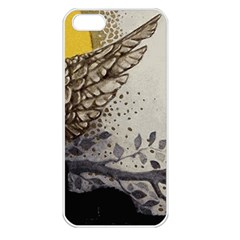 Owl 1462736 1920 Apple Iphone 5 Seamless Case (white) by vintage2030