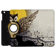 Owl 1462736 1920 Apple Ipad Mini Flip 360 Case by vintage2030