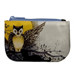 Owl 1462736 1920 Large Coin Purse