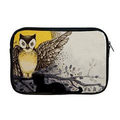 Owl 1462736 1920 Apple Macbook Pro 17  Zipper Case by vintage2030