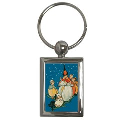 Witch 1461949 1920 Key Chains (rectangle)