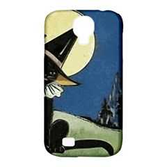 Black Cat 1462738 1920 Samsung Galaxy S4 Classic Hardshell Case (pc+silicone)